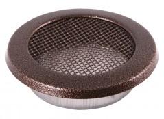 Вентиляционная решетка круглая старая медь Ø100