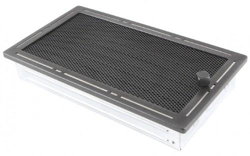 Вентиляционная решетка TREND графит 16х32 жалюзи