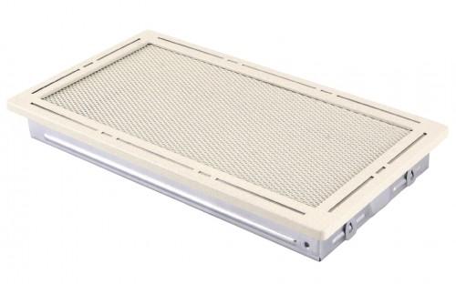 Вентиляционная решетка TREND крем brokatowy 16х32