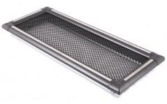 Вентиляционная решетка EXCLUSIVE графит/нержавейка 16х45