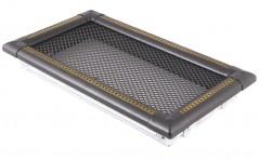 Вентиляционная решетка EXCLUSIVE графит/латунь патина 16х32