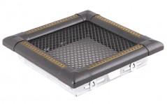 Вентиляционная решетка EXCLUSIVE графит/латунь патина 16х16