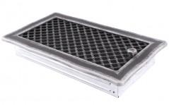 Вентиляционная решетка DECO серебряная патина 16х32 жалюзи