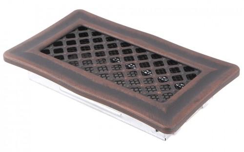 Вентиляционная решетка DECO медная патина 10х20
