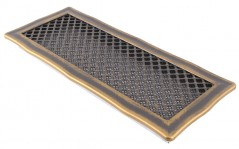 фото Вентиляционная решетка DECO золотая патина 16х45