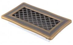 Вентиляционная решетка DECO золотая патина 10х20