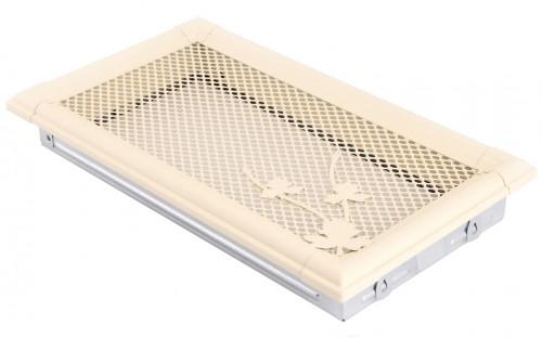 Вентиляционная решетка RETRO слоновая кость 16х32