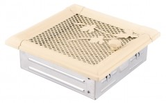 Вентиляционная решетка RETRO слоновая кость 16х16 жалюзи