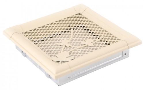 Вентиляционная решетка RETRO слоновая кость 16х16