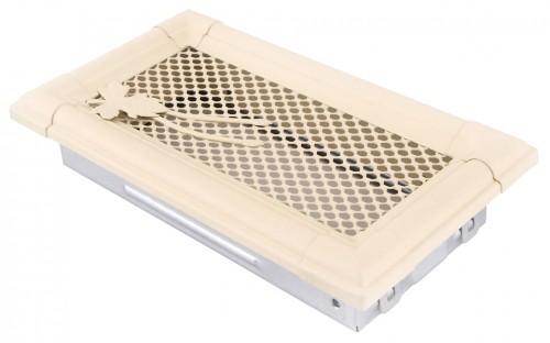 Вентиляционная решетка RETRO слоновая кость 10х20
