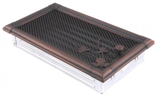 Вентиляционная решетка RETRO медная патина 16х32 жалюзи
