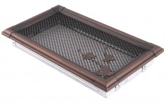 Вентиляционная решетка RETRO медная патина 16х32
