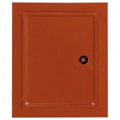 Дверка для чистки красная 155х205 мм