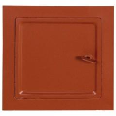 Дверка для чистки красная 140х140 мм