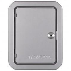 фото Дверка ревизионная серебряная 140х210 мм