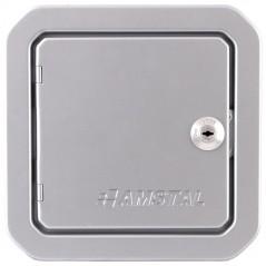 фото Дверка ревизионная серебряная 140х140 мм