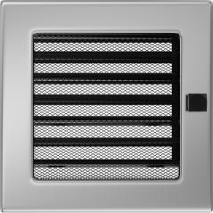 фото Вентиляционная решетка KRATKI никель 17Х17 жалюзи