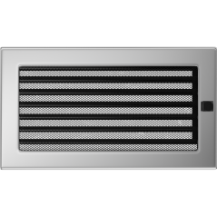 Вентиляционная решетка KRATKI никель 17Х30 жалюзи
