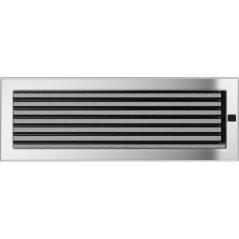 Вентиляционная решетка KRATKI никель 17Х49 жалюзи