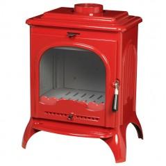 Чугунная печь INVICTA SEVILLE 2 красная эмаль