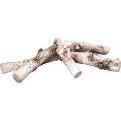 Дрова керамические для биокамина БЕРЕЗА