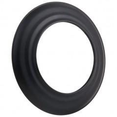 Розета черная Ø160
