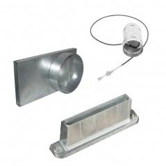 Комплект подачи холодного воздуха для топок Kratki Ø125