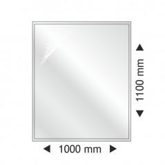фото Прямоугольная стеклянная основа 1000x1100mm