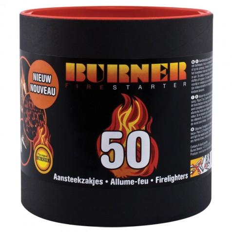 Разжигатель для костра BURNER tuba 50 шт.