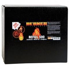 фото Разжигатель для костра BURNER коробка 500 шт.