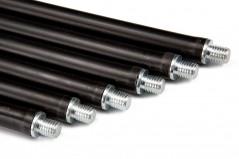 Комплект гибких ручек для чистки дымохода Savent 1м 6 шт.