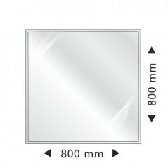 фото Квадратная стеклянная основа 800x800 mm