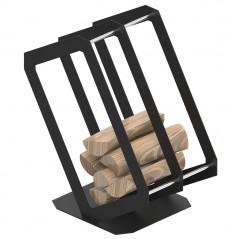 Корзина для дров P3 черный мат