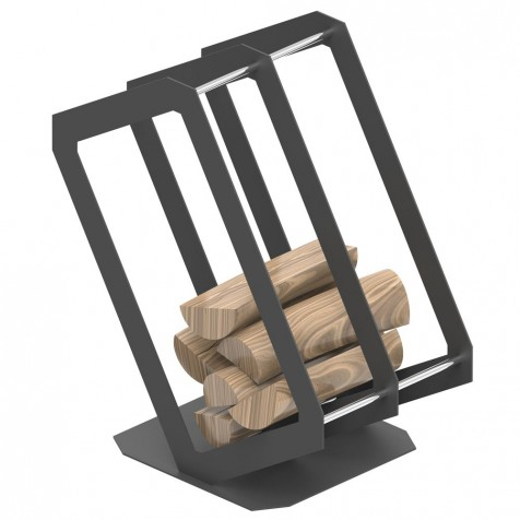 Корзина для дров P3 графит