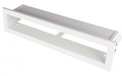 фото Вентиляционная решетка Открытая белая 40х6 см