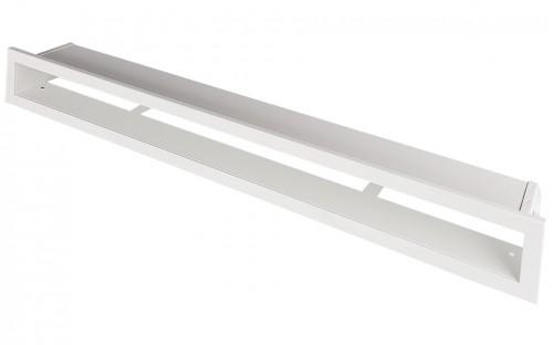 Вентиляционная решетка Открытая белая 80х6 см