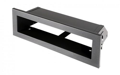 Вентиляционная решетка Открытая графит 20х6 см