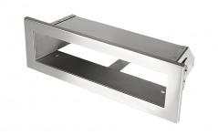 Вентиляционная решетка Открытая нержавейка 20х6 см