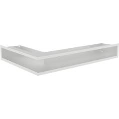 Вентиляционная решетка KRATKI LUFT белая правая угловая 40x60x9