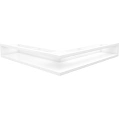 Вентиляционная решетка KRATKI LUFT белая угловая 56x56x9