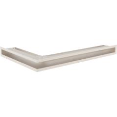 Вентиляционная решетка KRATKI LUFT кремовая правая угловая 40x60x6