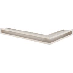 Вентиляционная решетка KRATKI LUFT кремовая левая угловая 60x40x6