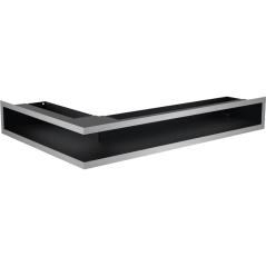 Вентиляционная решетка KRATKI LUFT нержавеющая сталь правая угловая 40x60x9