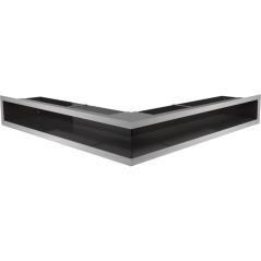 Вентиляционная решетка KRATKI LUFT нержавеющая сталь угловая 56x56x9