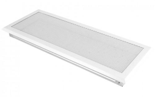 Вентиляционная решетка белая 16х45