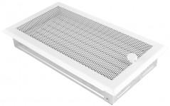 Вентиляционная решетка белая 16х32 жалюзи