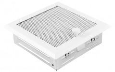 Вентиляционная решетка белая 16х16 жалюзи