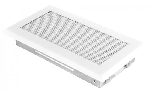 Вентиляционная решетка белая 10х20