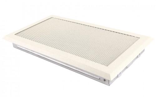 Вентиляционная решетка крем brokatowy 16х32