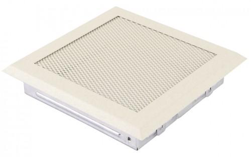 Вентиляционная решетка крем brokatowy 16х16